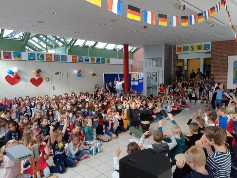 Schüler aus unserer Partnerstadt Saint-Grégoire zu Besuch in Uttenreuth